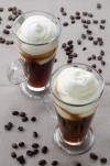 Irish coffee come si prepara con cialde di cioccolato